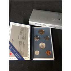 ROYAL CANADIAN MINT CASED 1995    6 COIN  SET