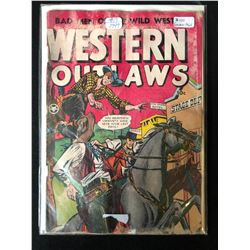 1949 WESTERN OUTLAWS #19 COMIC BOOK