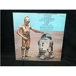 VINTAGE THE STORY OF STAR WARS VINYL RECORD