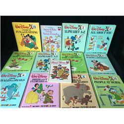 WALT DISNEY BOOK LOT (BANTAM BOOKS)