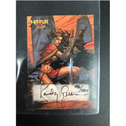 WITCHBLADE ULTRA LIMITED AUTOGRAPHED CARD BY RANDY GREEN (486/1000)