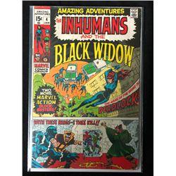 THE INHUMANS & THE BLACK WIDOW #4 (MARVEL COMICS)