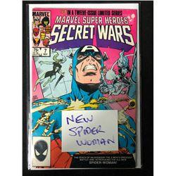 MARVEL SUPER HEROES SECRET WARS #7 (MARVEL COMICS) *NEW SPIDER-WOMAN*