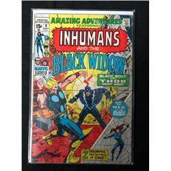 AMAZING ADVENTURES FEATURING INHUMANS & THE BLACK WIDOW #8 (MARVEL COMICS)