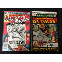 MARVEL COMIC BOOK LOT (SPIDER-MAN #15/ ANT-MAN #4)
