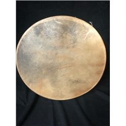 """LARGE 14"""" NATIVE DRUM ( AUTHENTIC ANIMAL HYDE"""""""