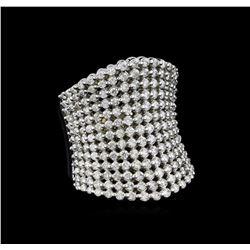 2.50 ctw Diamond Ring - 14KT White Gold - 14KT White Gold