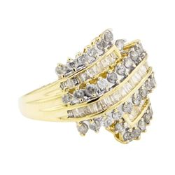 2.00 ctw Diamond Ring - 10KT Yellow Gold