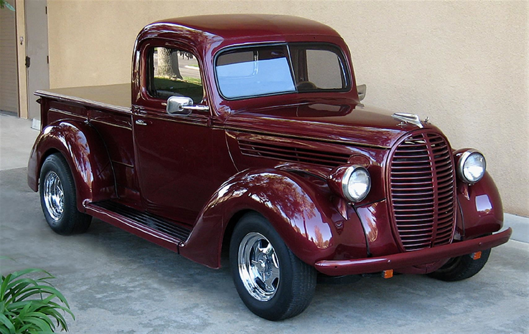 1938 Ford Truck >> 1938 Ford Pickup Truck