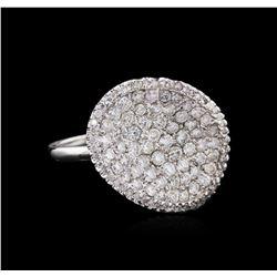 1.57 ctw Diamond Ring - 14KT White Gold