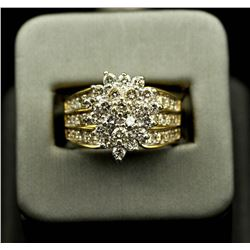 2.05 ctw Diamond Ring - 14KT Yellow Gold