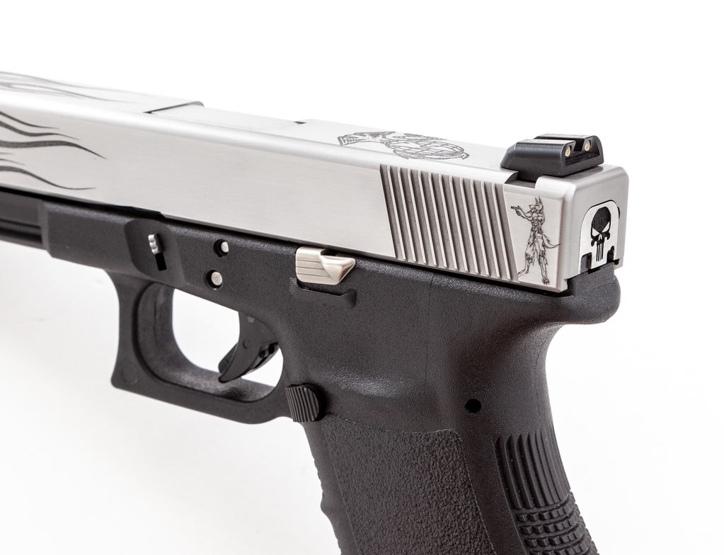 Custom Long Slide Glock 20 Semi-Auto Pistol