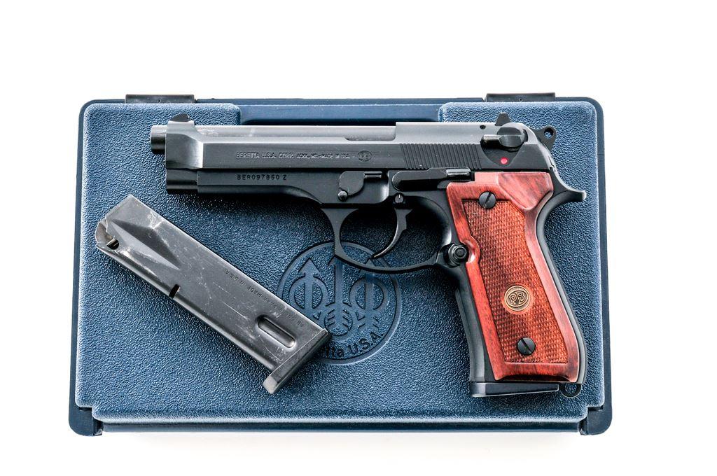 Beretta Model 92fs Semi Automatic Pistol