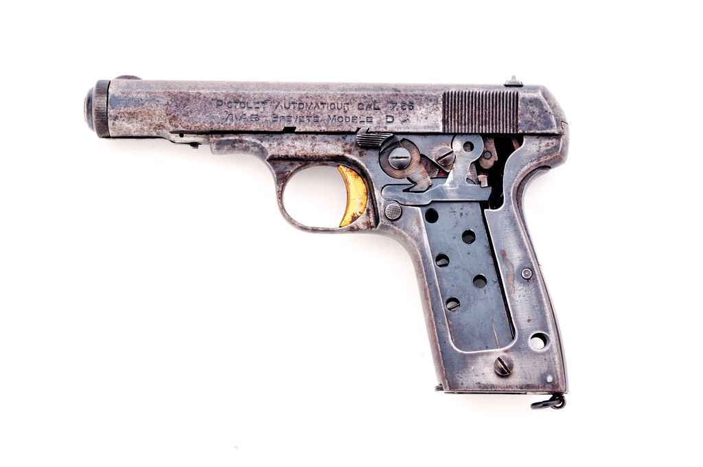 Nazi mkd French MAB Model D Semi-Auto Pistol