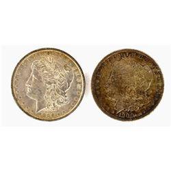 1886 & 1900 CH BU MORGAN DOLLARS