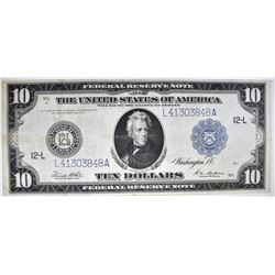 1914 $10 FRN  SAN FRANCISCO BETTER DISCTRICT