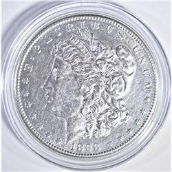 1898-S MORGAN DOLLAR BU CLEANED