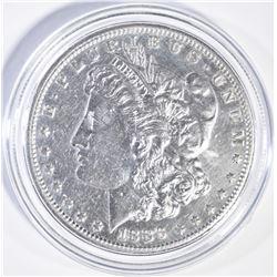 1886-S MORGAN DOLLAR AU/BU CLEANED