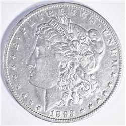 1893 O MORGAN DOLLAR  AU