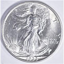 1933 S WALKING LIBERTY HALF DOLLAR GEM BU