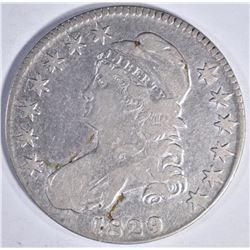 1829 BUST HALF DOLLAR  VF