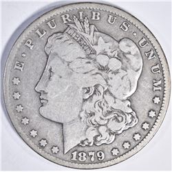 1879 CC MORGAN DOLLAR FINE