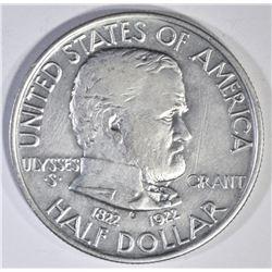 1922 GRANT MEMORIAL COMMEM HALF DOLLAR
