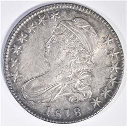 1818 BUST HALF DOLLAR  CH BU