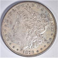 1878-S MORGAN DOLLAR, CH BU++ ORIGINAL