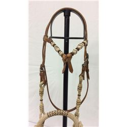 Cowboy Hackamore With Rawhide Bosal And 30ft