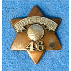 Butte Montana Police Badge