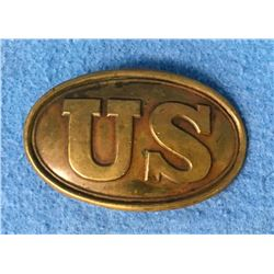 Original Antique U S Cavalry Belt Buckle