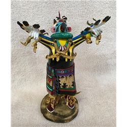 Hopi Kachina Doll Signed BRT
