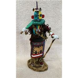 Hopi Indian Carved Kachina Doll Signed BRT