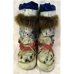 Pair Eskimo Seal Muck Boots