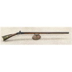 Rare Original Kentucky Style Flintlock Rifle 1700s