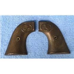 Pair Early Colt Single Action Army Revolver Grips