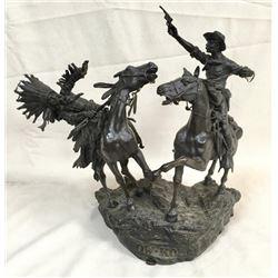 """Rare Original Carl Kauba Bronze """"how-kola"""""""