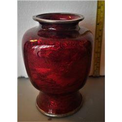 Beautiful Japanese Ginbari Vase Signed (1863-1939)