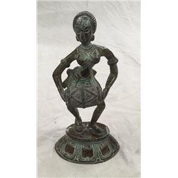 Bronze Indian Dancer