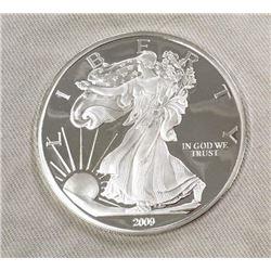 2009 Large 1/2 Lb .999 Fine Silver Coin