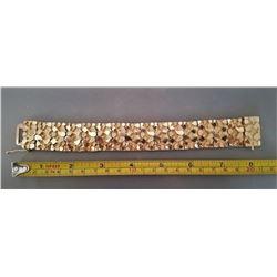 Man's 14k Gold Nugget Bracelet
