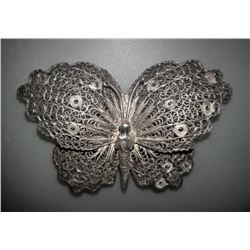 Handarbeit Filigree Butterfly Pin Brooch