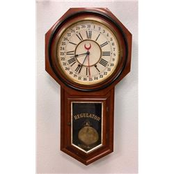 Ansonia Regulator 8 Day Spring Driven Wall Clock