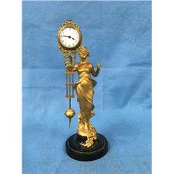 Diana Mystery Swinging Arm Clock
