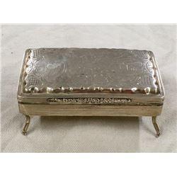 Sterling Silver Cigar Box