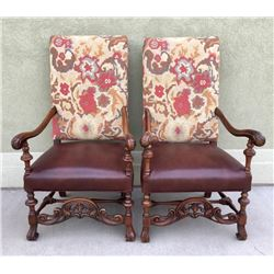Pair Of Great Arm Chairs