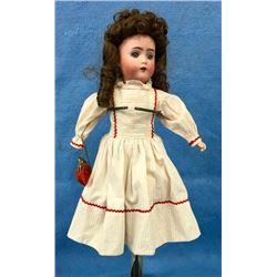 German Bisque Head Doll. Marked Ab 1362 2/0