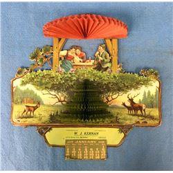 Victorian 1910 Calendar