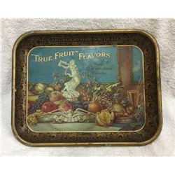 Rare Early True Fruit Flavors Serving Tray